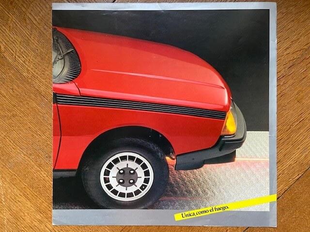 Renault Fuego Argentina